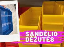 Plastikinės sandėliavimo dėžutės