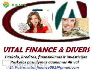 Gaukite kreditą iki 9 500 000 eurų