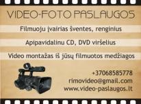 Filmuojam išleistuves perrašome DVD Blu Ray