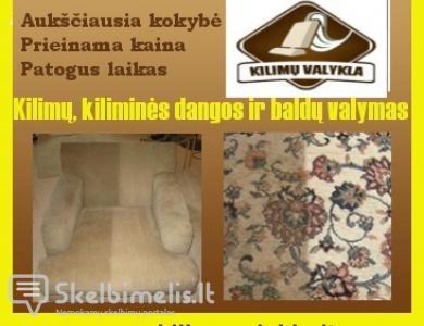 KILIMŲ IR BALDŲ VALYMAS Kaune