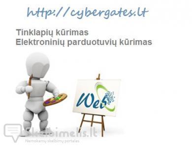 Internetinių svetainių, el.parduotuvių kūrimas