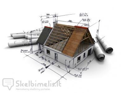 Individualių namų statyba, butų, namų vidaus a