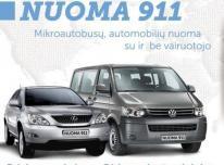 Mikroautobusų nuoma nuo 25eu