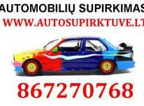 867270768 AUTOMOBILIŲ SUPIRKIMAS