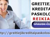 Greitieji Kreditai, Paskolos Internetu, SMS Credit