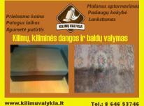 Baldų ir kilimų, kiliminės dangos valymas Kaune