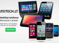 Mobilieji telefonai Samsung, iphone, Nokia, Sony,