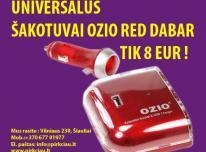 AKCIJA VARDINIAMS ŠAKOTUVAMS OZIO 12/24V 8 EUR.