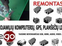 Nešiojamojo kompiuterio, planšetės, GPS navigac