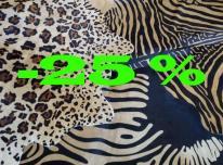 Egzotinių gyvūnų raštų kailiniai kilimai - 25