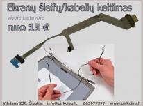 Ekrano ŠLEIFAI / Matricos LVDS LCD kabeliai keiti