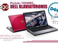 Dell nešiojamųjų kompiuterių klaviatūros, pre