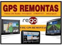 Programinis ir mechaninis GPS navigacijų, navigac