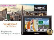 GARMIN NUVI 42 EU GPS navigacija su visos EU žem