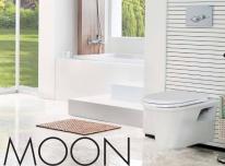 Išskirtinio dizaino klozetas Moon