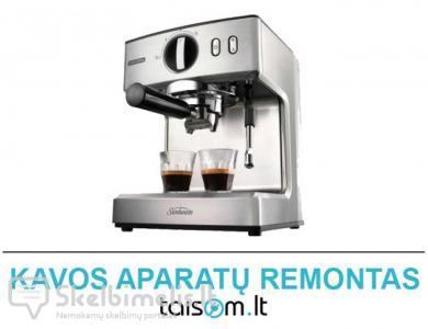 Profesionalus kavos aparatų remontas Klaipėdoje