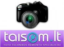 Profesionalus fotoaparatų ir video kamerų remont