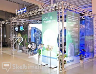 Stendų ir aliuminio konstrukcinių sistemų gamyb