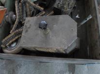 21-13-8052/61 Klijų bakelis su voleliais (naudota