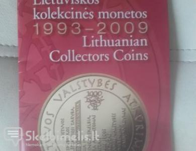 Lietuviškos kolekcinės monetos 1993-2009