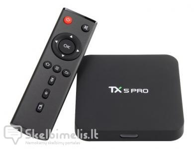 Android 6.0 Tv priedelis TX5 PRO