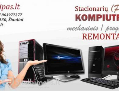 Stacionarių kompiuterių remontas