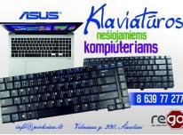 ASUS nešiojamų kompiuterių klaviatūros geromis