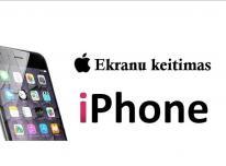Profesionalus iPhone ekranų keitimas Klaipėda