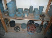 Naujos ir naudotos staklių detalės, cilindrai, s