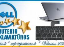 DELL nešiojamų kompiuterių klaviatūros geromis