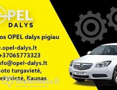 Naujos OPEL automobilių dalys internetu