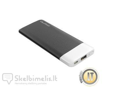 NEŠIOJAMA BATERIJA 10000MAH 2 X USB POWER BANK MO