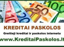 Greiti Kreditai Paskolos Internetu Be Uzstato