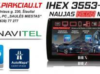 IHEX-3553 PRO NAVIGACINĖ SISTEMA AUTO / TRUCK / G