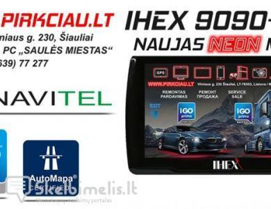 IHEX-9090 PRO NAVIGACINĖ SISTEMA AUTO / TRUCK GPS