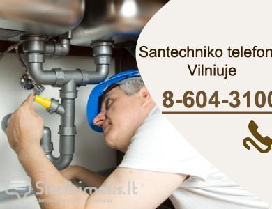 SANTECHNIKO PASLAUGOS - VILNIAUS MIESTE  Tel.+ 370