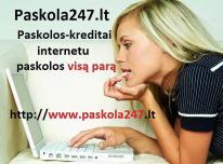 Kreditai internetu be užstato. Greitas kreditas.