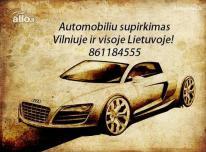 Automobiliu supirkimas 24/7 861184555