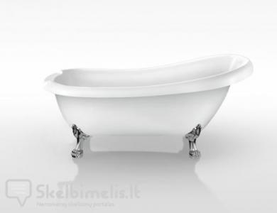 Retro, klasikinė vonia Susanna