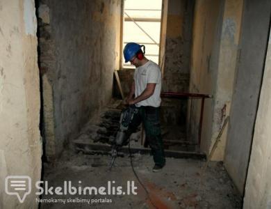 Sienų griovimas Vilniuje