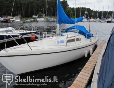 Laivo nuoma--Plaukimas Jachta Kauno mariose...