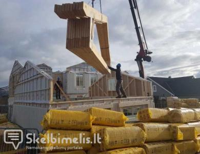 Stogo konstrukcijų (santvarų) gamyba ir montavim