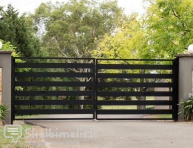 Gaminame metalinius vartus, laiptus, turėklus ir