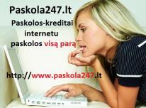 Greitieji kreditai internetu. Paskolos internetu v