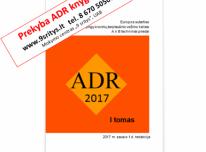 PARDUODAME 2019 M. REDAKCIJOS ADR KNYGAS