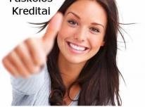 Greitas kreditas. Paskolų refinansavimas.
