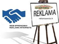Skelbimų talpinimas, reklama internete. Visos rek